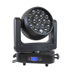 Aura 14CH 19pcs 25W 4in1 LED Moving Head Wash Light for Wedding/Club