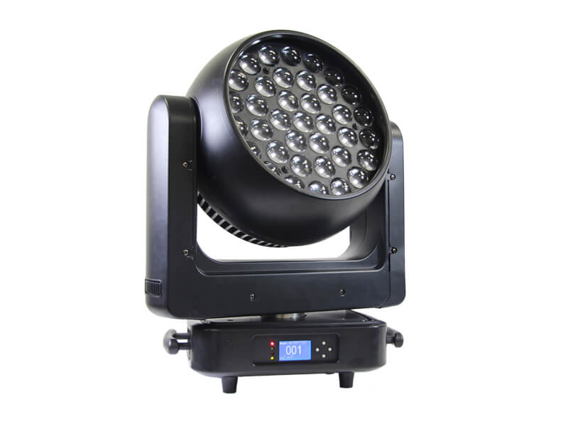 Aura 37pcs 20W 4in1 LED Zoom Moving Head Beam Wash Light