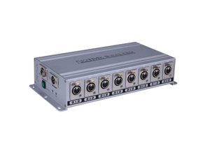 8 Ways 1 DMX Out DMX 512 Splitter